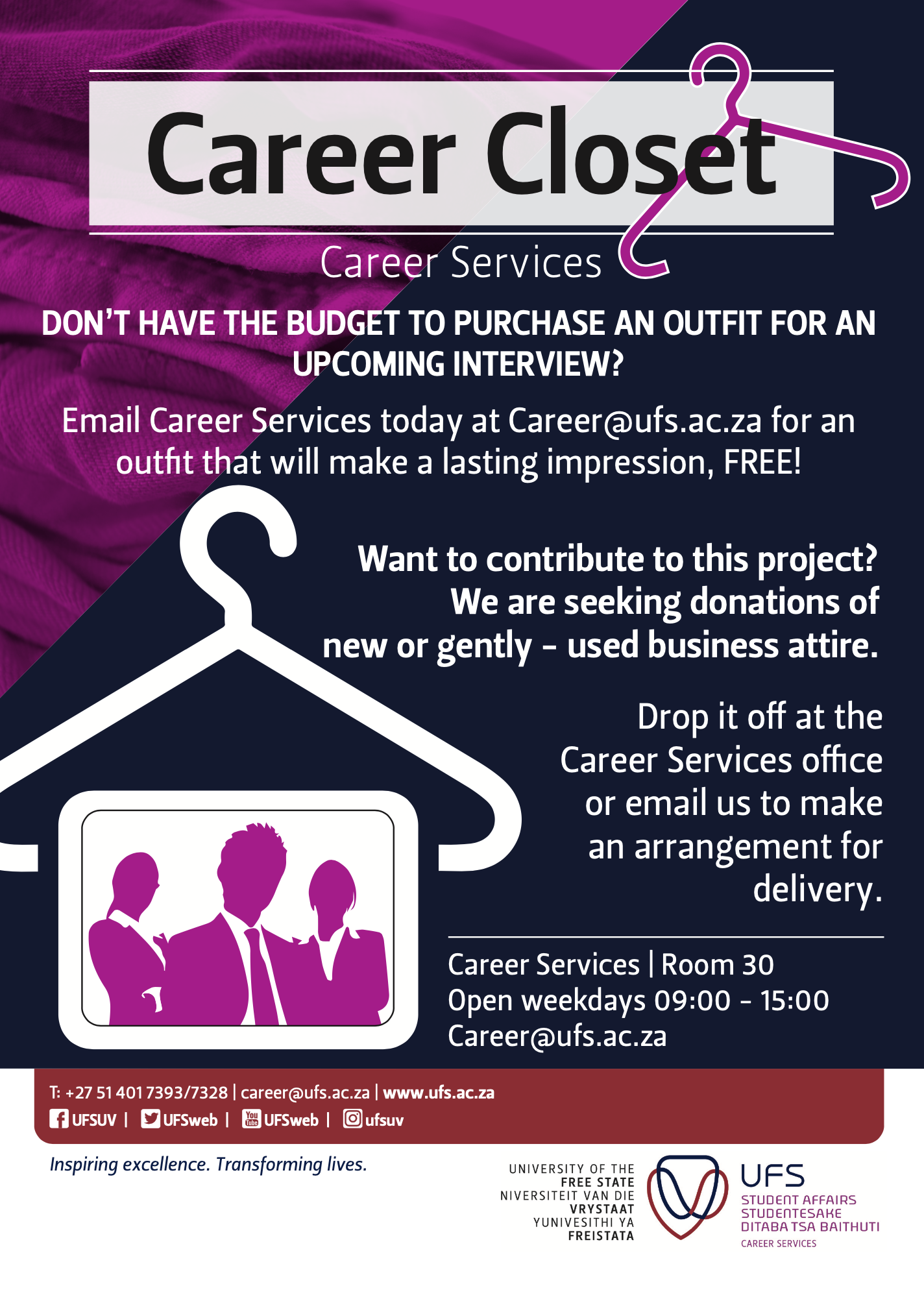 Career Closet advert -2
