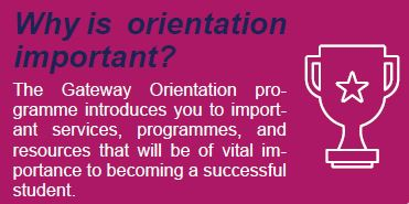 Why is orientation important?