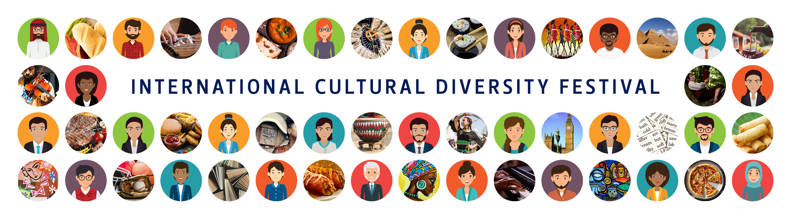International Cultural Diversity Festival web banner Office for International Affairs