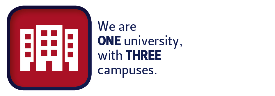 One University Three Campusses
