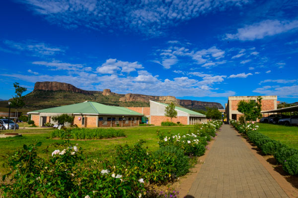 Beautiful vistas of the Qwaqwa Campus