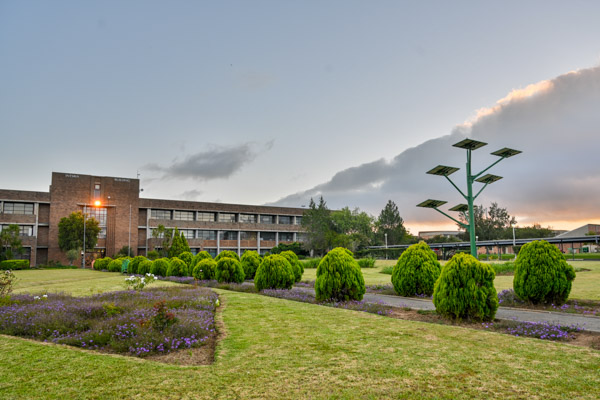 The Intsika Building on the Qwaqwa Campus