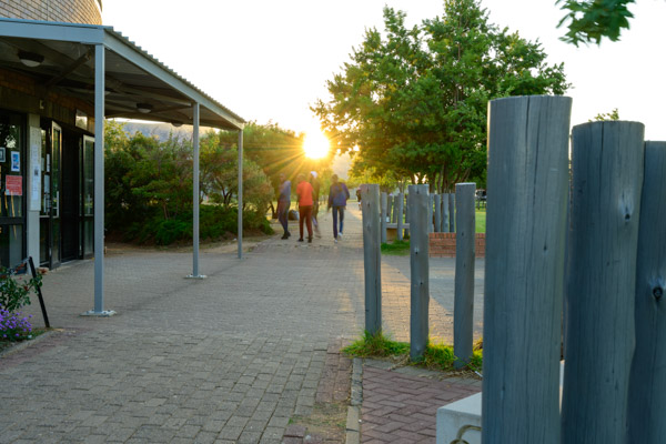 Walkway on the Qwaqwa Campus