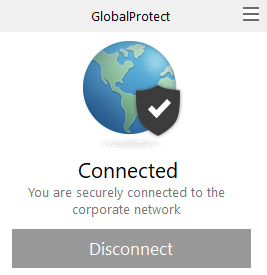 Connected GlobalProtect
