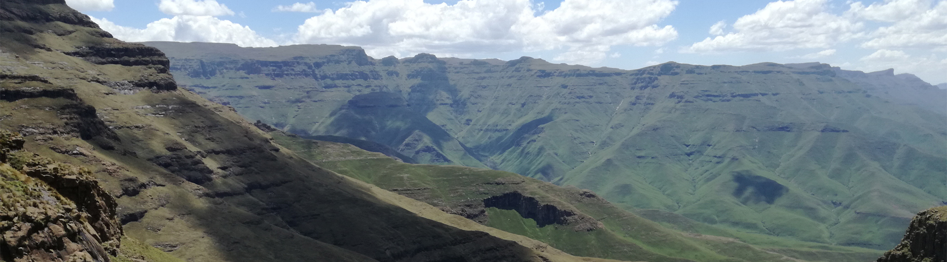 Slopes below Sentinel. Beautiful but not easy terrain to work in. Photo S. Steenhuisen (2)